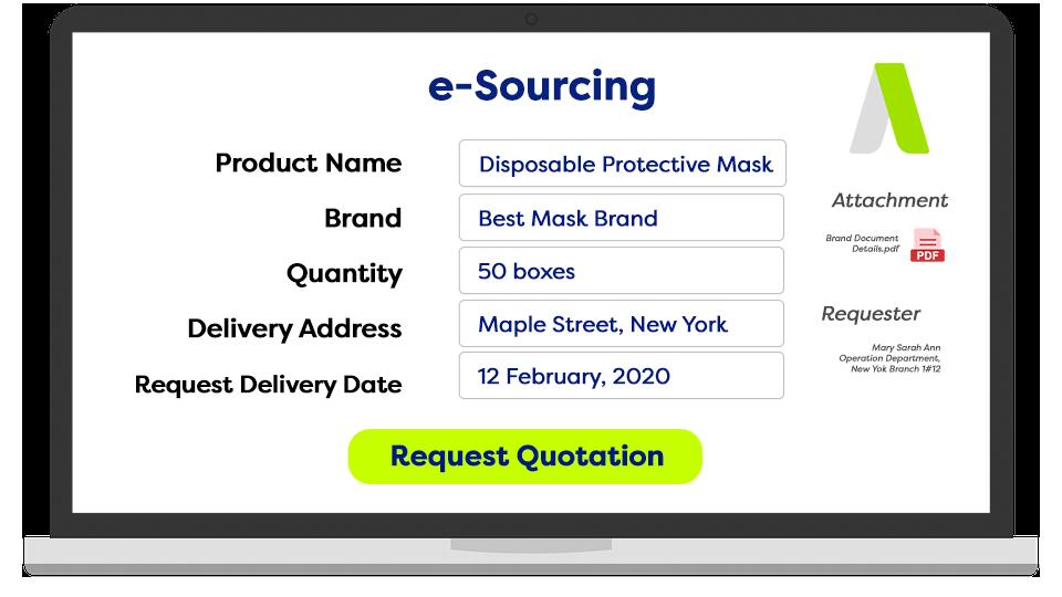 ADAM e-Sourcing Lapop